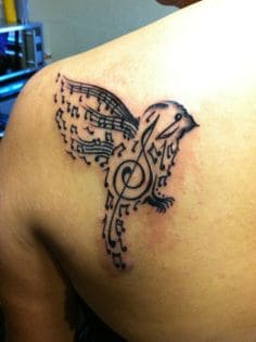 Music tattoo meaning ideas designs note small wrist for Ctrl tattoo meaning
