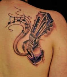 Music Tattoo 17
