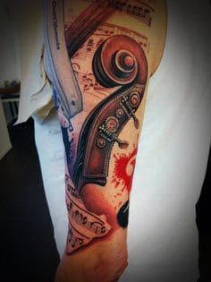Music Tattoo 19