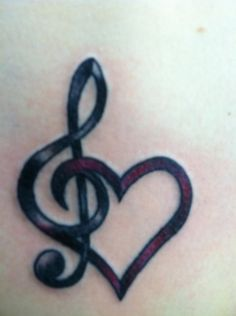 Music Tattoo 24