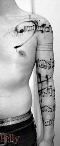 Music Tattoo 32