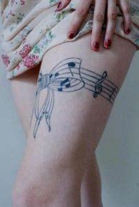 Music Tattoo 33