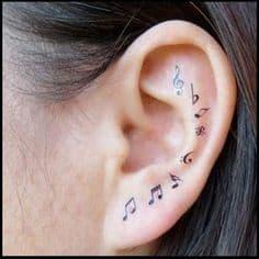 Music Tattoo 35