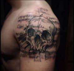 Music Tattoo 36