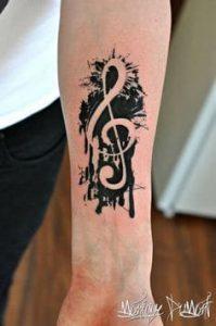 Music Tattoo 37