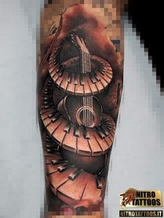 Music Tattoo 39