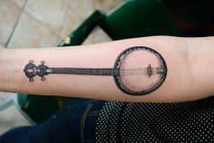 Music Tattoo 44