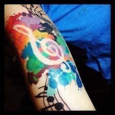 Music Tattoo 49