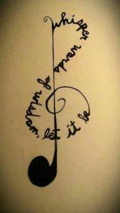 Music Tattoo 50
