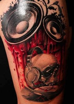 Music Tattoo 58