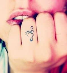 Music Tattoo 6