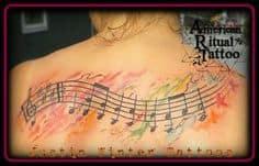 Music Tattoo 61