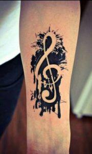 Music Tattoo 64