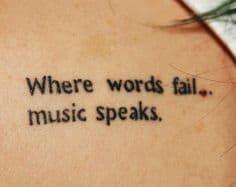 Music Tattoo 65