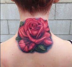 Neck Tattoo 19