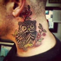 Neck Tattoo 42