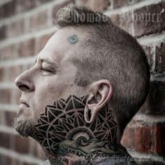 Neck Tattoo 5
