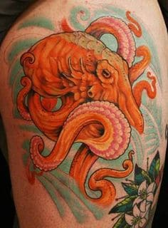 What Does Octopus Tattoo Mean Represent Symbolism