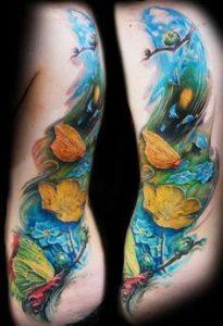 Rib Tattoo 13