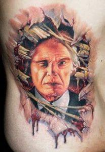Rib Tattoo 19