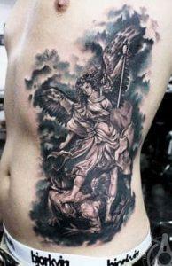Rib Tattoo 21