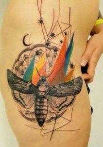 Rib Tattoo 24