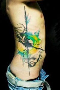 Rib Tattoo 25