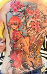 Rib Tattoo 26
