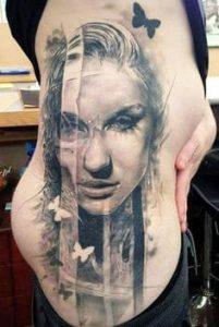 Rib Tattoo 27