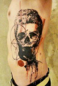 Rib Tattoo 30