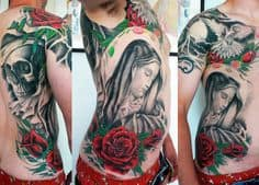 Rib Tattoo 31
