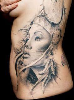 Rib Tattoo 32