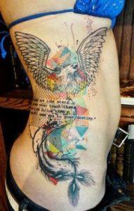 Rib Tattoo 36
