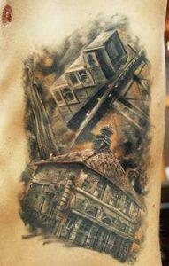 Rib Tattoo 39