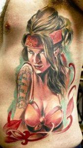 Rib Tattoo 4