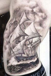 Rib Tattoo 43
