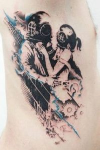 Rib Tattoo 46