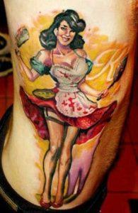 Rib Tattoo 48