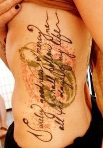 Rib Tattoo 49