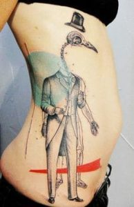 Rib Tattoo 8