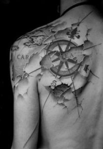 Shoulder Tattoo 1