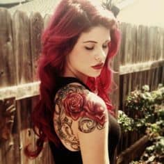 Shoulder Tattoo 11