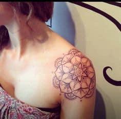 Shoulder Tattoo 22
