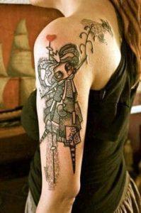 Shoulder Tattoo 27