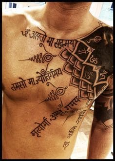 Shoulder Tattoo 45