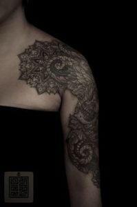 Shoulder Tattoo 6