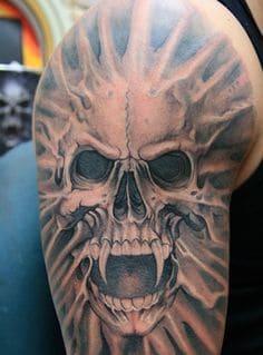 Skull Tattoo 25
