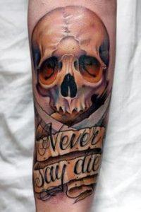 Skull Tattoo 49