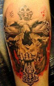 Skull Tattoo 8