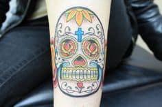 Sugar Skull Tattoo Meaning 1